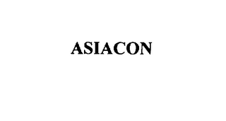 mark for ASIACON, trademark #75895855
