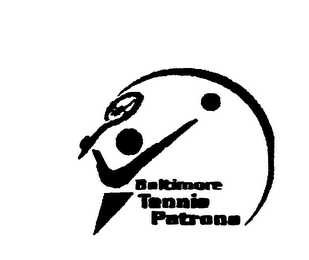 mark for BALTIMORE TENNIS PATRONS, trademark #75896174