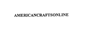 mark for AMERICANCRAFTSONLINE, trademark #75897091