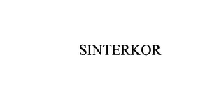mark for SINTERKOR, trademark #75898317