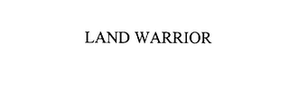 mark for LAND WARRIOR, trademark #75898664