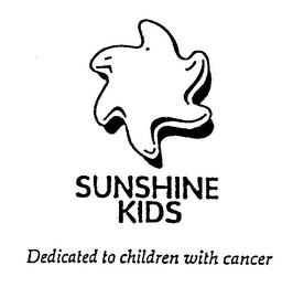 mark for SUNSHINE KIDS DEDICATED TO CHILDREN WITH CANCER, trademark #75899405