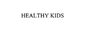 mark for HEALTHY KIDS, trademark #75899753