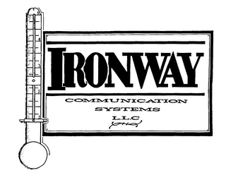 mark for IRONWAY COMMUNICATION SYSTEMS L.L.C, trademark #75900586
