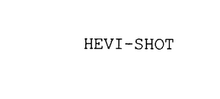 mark for HEVI-SHOT, trademark #75902913