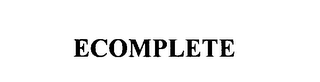 mark for ECOMPLETE, trademark #75903959