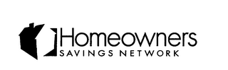 mark for HOMEOWNERS SAVINGS NETWORK, trademark #75904224