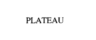 mark for PLATEAU, trademark #75906565