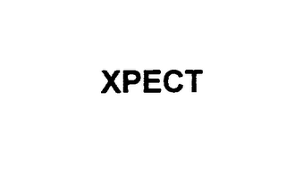 mark for XPECT, trademark #75916079