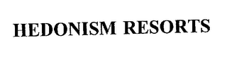 mark for HEDONISM RESORTS, trademark #75918419