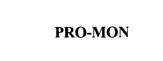 mark for PRO-MON, trademark #75918871