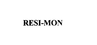 mark for RESI-MON, trademark #75919096