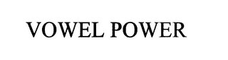 mark for VOWEL POWER, trademark #75920980