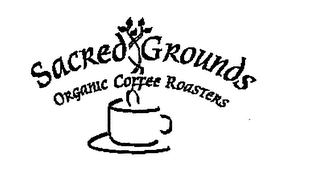 mark for SACRED GROUNDS ORGANIC COFFEE ROASTERS, trademark #75921731