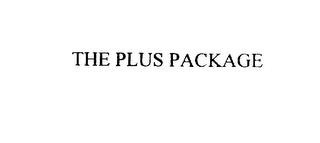 mark for THE PLUS PACKAGE, trademark #75922497