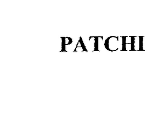 mark for PATCHI, trademark #75922731