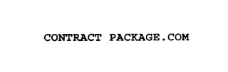 mark for CONTRACT PACKAGE.COM, trademark #75924923