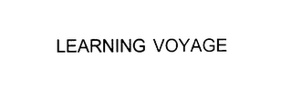 mark for LEARNING VOYAGE, trademark #75926458