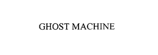 mark for GHOST MACHINE, trademark #75926931