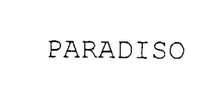 mark for PARADISO, trademark #75931816