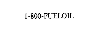 mark for 1-800-FUELOIL, trademark #75931984