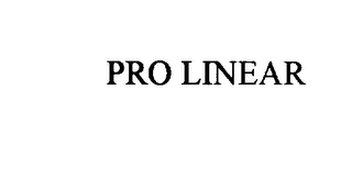 mark for PRO LINEAR, trademark #75932914