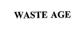 mark for WASTE AGE, trademark #75934898