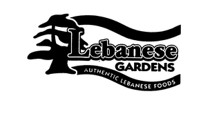 mark for LEBANESE GARDENS AUTHENTIC LEBANESE FOODS, trademark #75936221