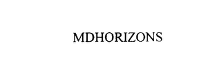 mark for MDHORIZONS, trademark #75938539