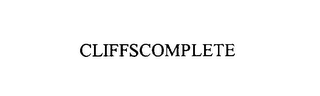 mark for CLIFFSCOMPLETE, trademark #75938639