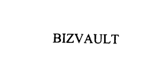 mark for BIZVAULT, trademark #75938938
