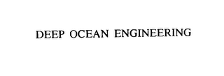 mark for DEEP OCEAN ENGINEERING, trademark #75940661