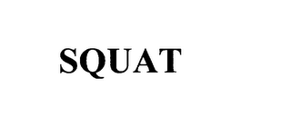 mark for SQUAT, trademark #75941746
