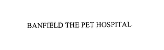 mark for BANFIELD THE PET HOSPITAL, trademark #75942868