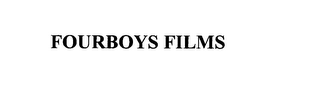 mark for FOURBOYS FILMS, trademark #75943852