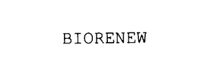 mark for BIORENEW, trademark #75955647