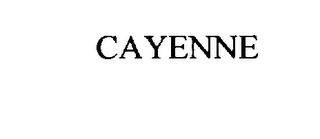 mark for CAYENNE, trademark #75980894