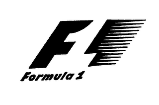 mark for F1 FORMULA 1, trademark #75981879