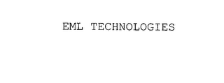 mark for EML TECHNOLOGIES, trademark #75981899