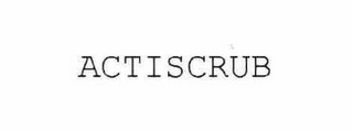 mark for ACTISCRUB, trademark #75983746
