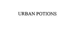 mark for URBAN POTIONS, trademark #76000746