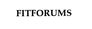 mark for FITFORUMS, trademark #76001411