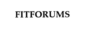 mark for FITFORUMS, trademark #76002317