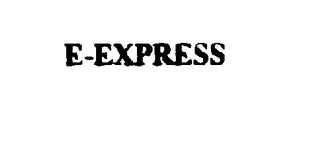 mark for E-EXPRESS, trademark #76002957