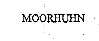mark for MOORHUHN, trademark #76003999