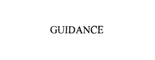 mark for GUIDANCE, trademark #76004443