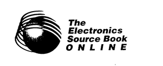 mark for THE ELECTRONICS SOURCE BOOK ONLINE, trademark #76007143