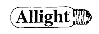 mark for ALLIGHT, trademark #76009741
