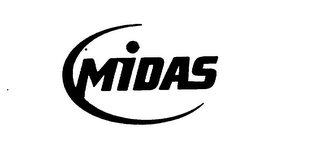 mark for MIDAS, trademark #76010545