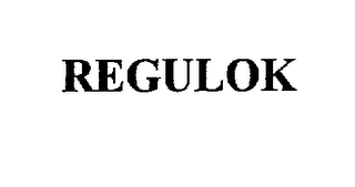 mark for REGULOK, trademark #76013318